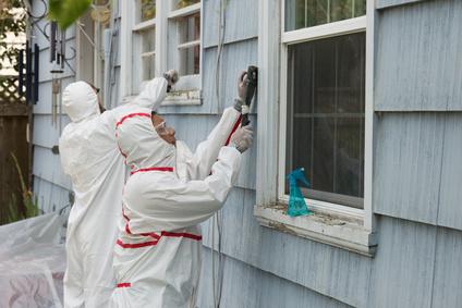 Travaux sur peinture extérieur au plomb