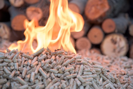 Brûler des granulés