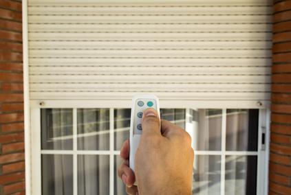 Volet PVC électrique avec télécommande