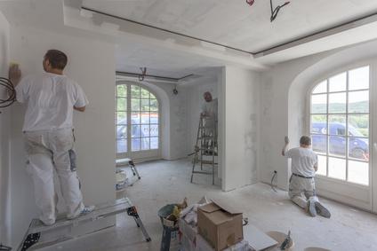 Rénovation complète du salon