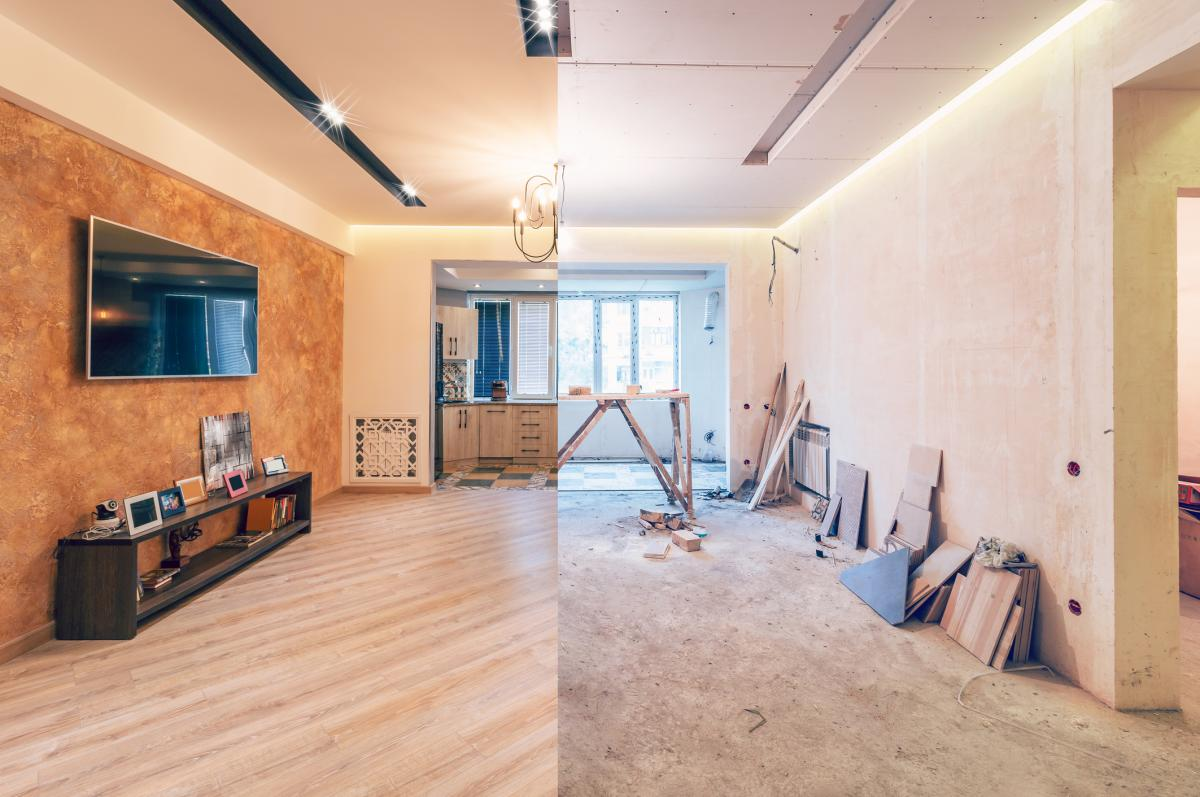 Faire Une Fenetre Dans Un Mur Porteur Prix rénovation de maison : les travaux, les lois et le prix