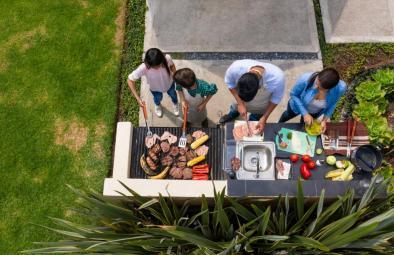 Prix d'une cuisine d'extérieur ou cuisine d'été