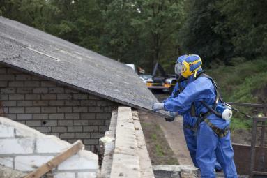 Désamiantage de toiture