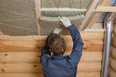 Installation d'isolation des combles