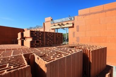 Construction d'un mur