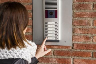 Interphone d'un immeuble