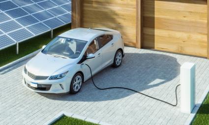 Prise de voiture électrique