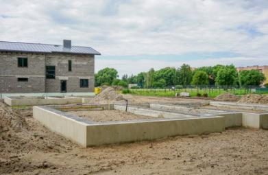 Fondation de maison