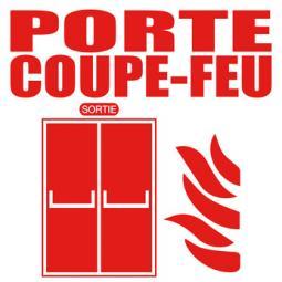 Logo d'une porte coupe-feu
