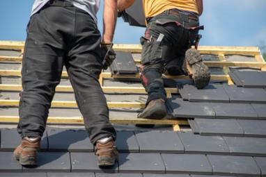 Réparation d'une toiture