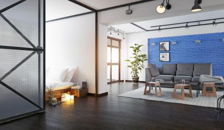 Loft moderne avec cloisons