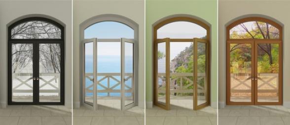 Modèles de porte fenêtres