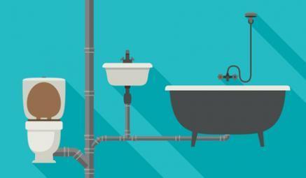 Schéma des tuyaux d'eau